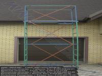 Вышка мерди используется для очистки водосточных систем частного дома