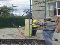 Монтаж помоста строительного марки смп