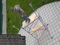 Разборный помост смп с рабочей площадкой 50x150 мм