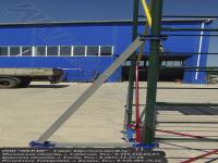 Крепление стабилизирующей опоры на вышке тура увт-15