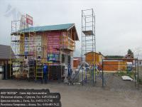 На строительном рынке в деревне калиново серпуховского района московской области - выставлены все виды вышек-тура производства компании ооо мерди