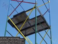 Настилы металлические с люком и без люка установленные на вышке-тура увт-15
