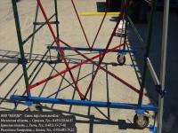 Усиленная жесткость крепления колёсного основания в вышке увт-15