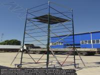 Жесткий каркас, площадка 1,5x1,5 метра - вышка-тура увт-15