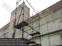 Монтаж 8 метровой строительной вышки тура вкт-17