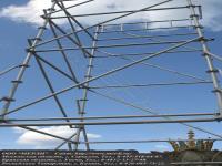 Вышка-тура марки вкт-17 с ячейкой 2x2 метра