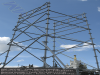 Вышка башенного типа вкт-17 изготовлена по индивидуальному заказу