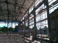 Наши строительные вышки, используемые при строительстве собственного производства