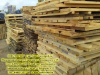 Склад деревянных настилов