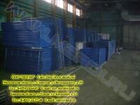 Строительные леса на складе